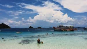 เกาะหวาย-เกาะคลุ้ม-4 จุด-เต็มวัน (ดำน้ำ-ตกปลา) เรือไม้