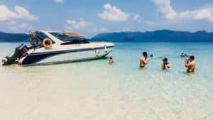 เกาะหวาย–เกาะเหลายา–เกาะคลุ้ม (SpeedBoat) ครึ่งวัน