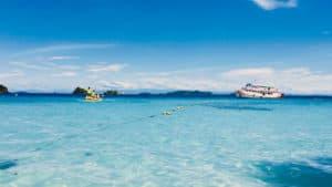 เกาะยักษ์เล็ก–เกาะมะปริง-หาดเกาะรัง–เกาะยักษ์ใหญ่–หาดอุทยาน (เรือไม้)