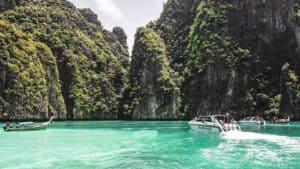 เกาะพีพี+เกาะเเบมบู (เรือ SpeedBoat)