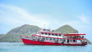 หมู่เกาะอ่างทอง เรือใหญ่
